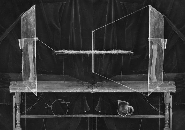, 'Axe Diptych,' 1988, Julie Saul Gallery