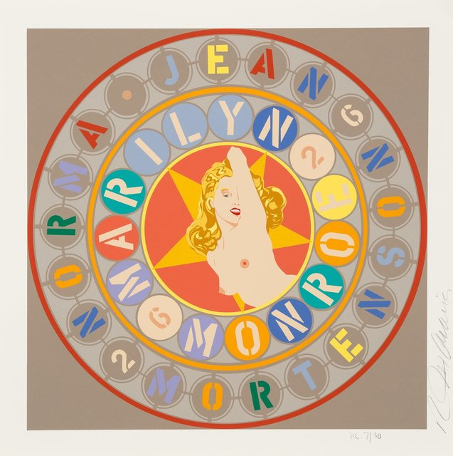 Robert Indiana, 'Marilyn Monroe, from The American Dream Portfolio', 1997, Heritage Auctions