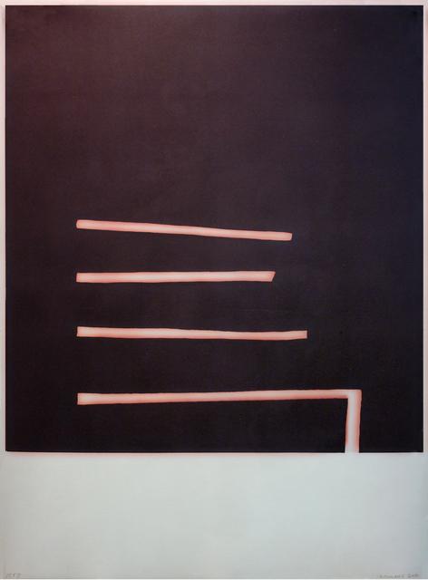 , 'The Steps,' 2011, Tandem Press