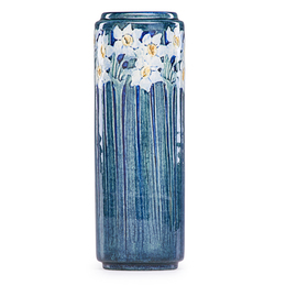 Newcomb College, Fine Early Vase With Daffodils, New Orleans, LA