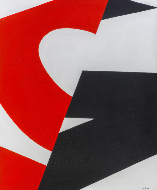 Salvatore Garau, 'Dietro, una forma rossa', 1974, ArtRite