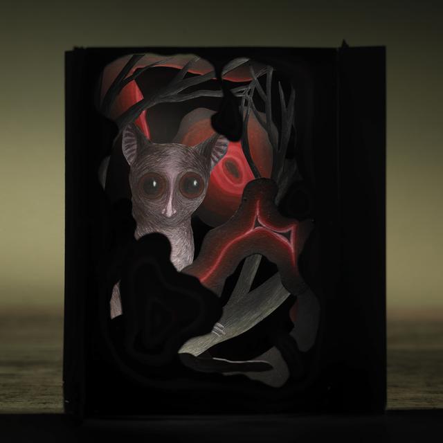 , 'Gentle Beast Hiding Behind Molten Lava,' 2009, Pucker Gallery