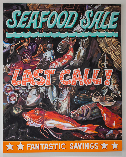 , 'Seafood Sale,' 2017, Quint Gallery