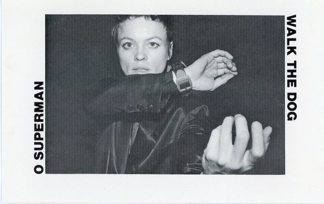 Laurie Anderson, 'One Ten Records, Laurie Anderson, O Superman Walk The Dog, Card', 1982, James Fuentes