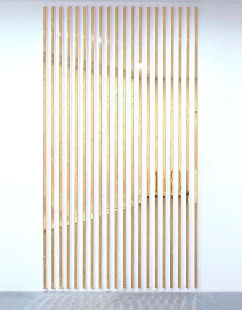 , 'Wall Watcher (gold),' 2017, Michael Fuchs Galerie