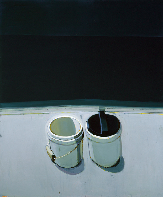 , 'The Two Gesso Cans,' 1999, San Jose Museum of Art