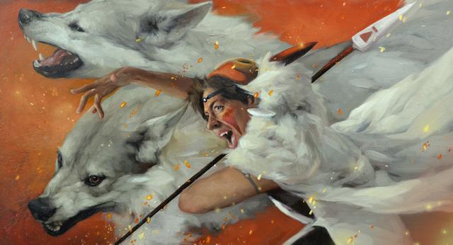 Jennifer Gennari, 'The Fight (Princess Mononoke)', 2019, IX Gallery