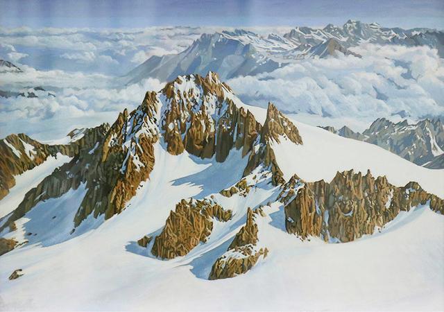 Hervé Heuzé, 'Mont-Blanc ', 2018, Galerie Richard