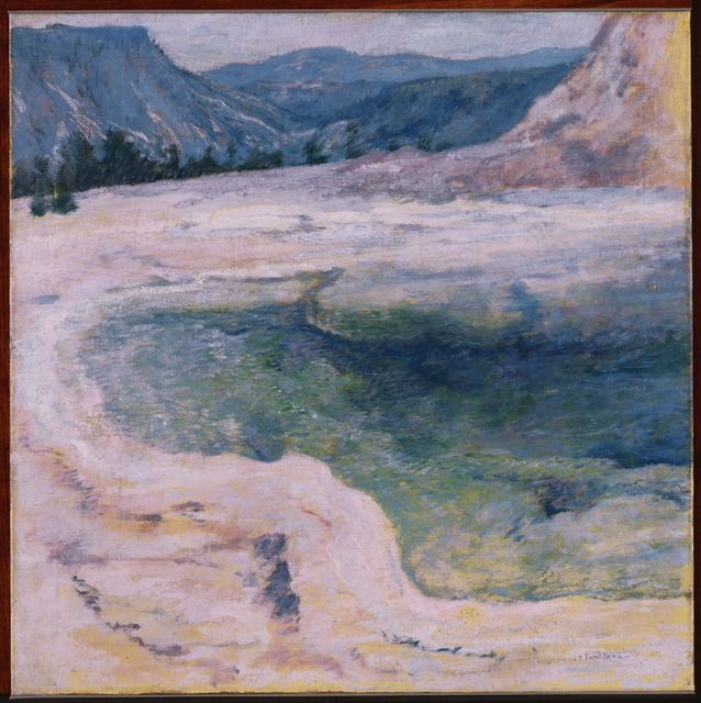 John Henry Twachtman, 'The Emerald Pool', ca. 1895, Phillips Collection