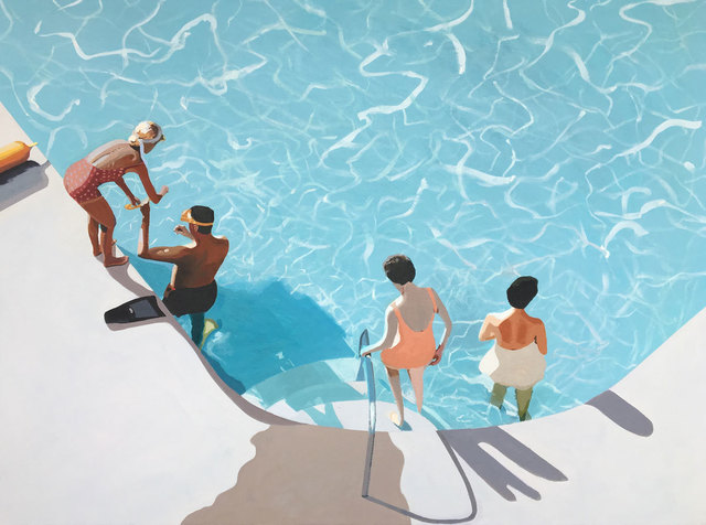 Jessica Brilli, 'Diving Lesson', ArtStar