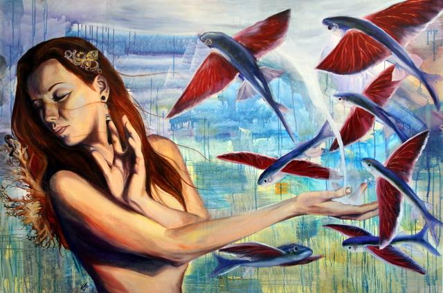 , 'Flying Alchemy,' 2013, Bitfactory Gallery
