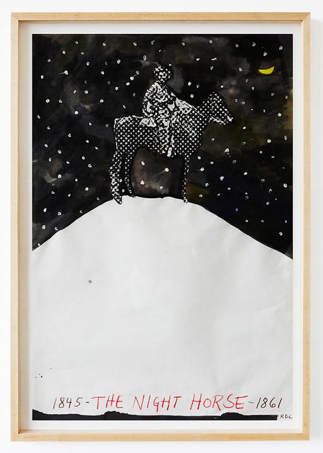 , 'The Night Horse 1845-1861,' 2016, Contini Art UK