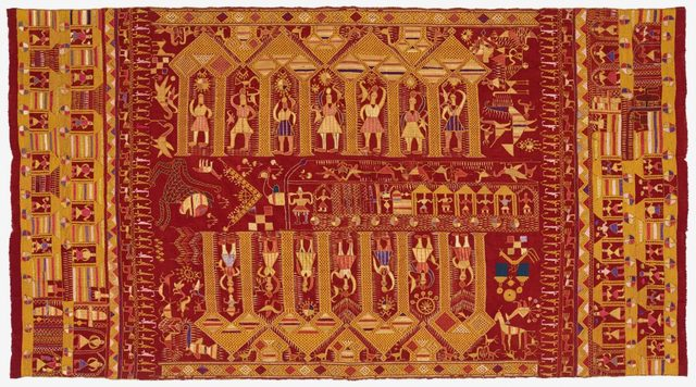 , 'Darshan Dwar Phulkari,' ca. 20, Philadelphia Museum of Art