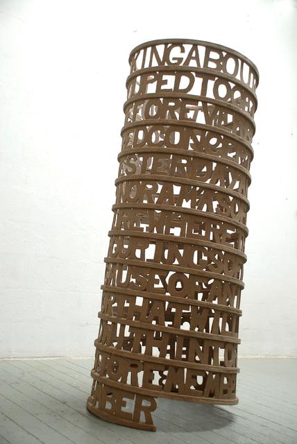 , 'Words 31,' 2013, Galerie Bart