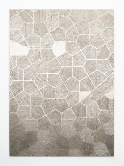 Naufus Ramírez-Figueroa, 'Scales,Variation #5, Moon gold', 2018, Sies + Höke