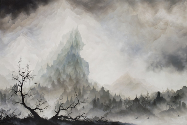 Brian Mashburn, 'Wave', 2018, Painting, Oil on canvas, Haven Gallery