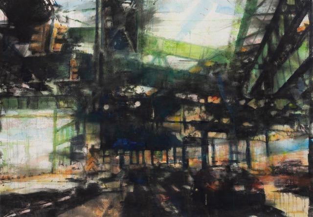 "Norbert Waysberg, '""Promenade Matinale""', 2015, Gallery 104"