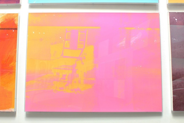Andy Warhol, 'Electric Chairs (FS II.82)', 1971, Print, Screenprint, Revolver Gallery