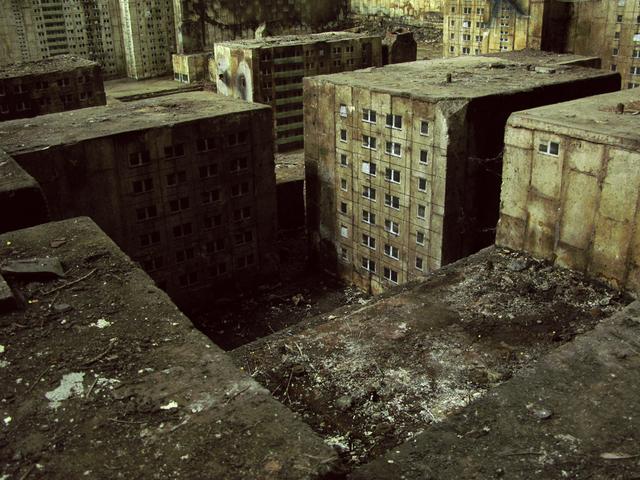 , 'Caspar David Friedrich Stadt (4),' 2009, Jonathan LeVine Projects