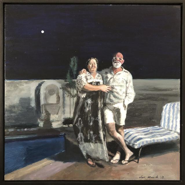 , 'Pierot & Pierette  (moonstruck eternal lovers),' 2019, 99 Loop Gallery