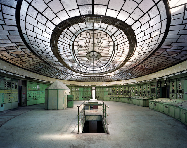 , 'Control Room, Kelenfold Power Station, Budapest, Hungary,' 2012, Tristan Hoare