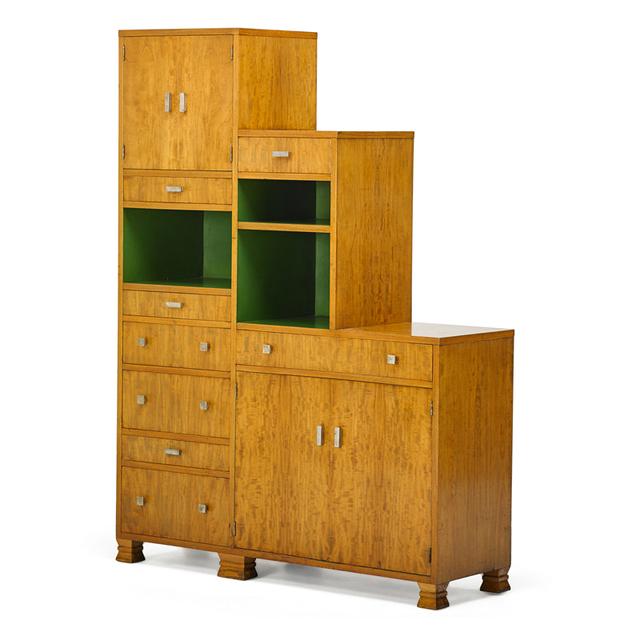 David Robertson Smith, 'Tall Dynamique Creations Cabinet, Grand Rapids, MI', ca. 1929, Rago/Wright