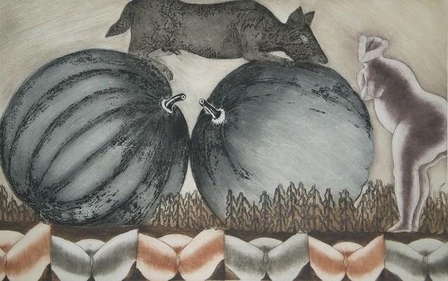 , 'La Calabaza from Chilam Balam,' 1975, Stern Fine Art