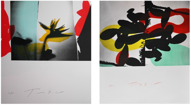 , 'Special offer : two original lithographs by Tony Soulié sold together,' 2015, Galerie Estampe