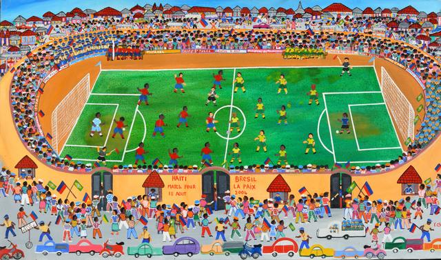 , 'Match pour la paix,' , Le Centre d'Art d'Haïti