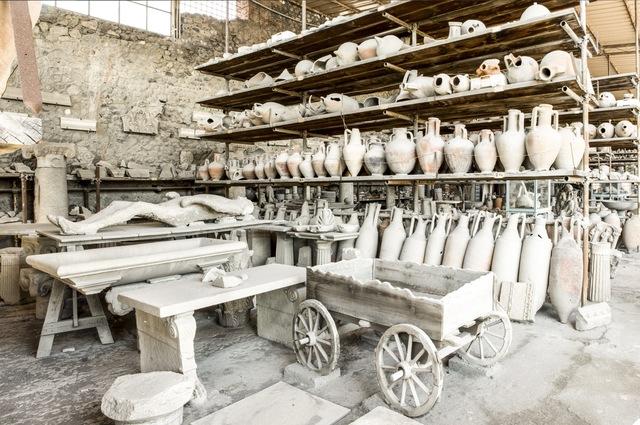 , 'Treasure Rooms of the Excavation of Pompeii - Naples,' 2015, Robert Mann Gallery