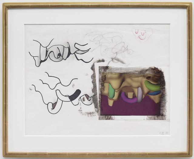 Seth Price, 'CGI Face Study', 2004, Petzel Gallery