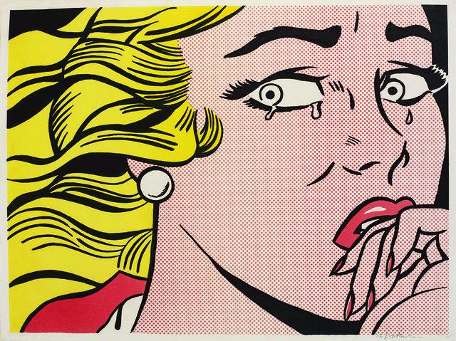 Roy Lichtenstein, 'Crying Girl,' 1963, Sims Reed Gallery