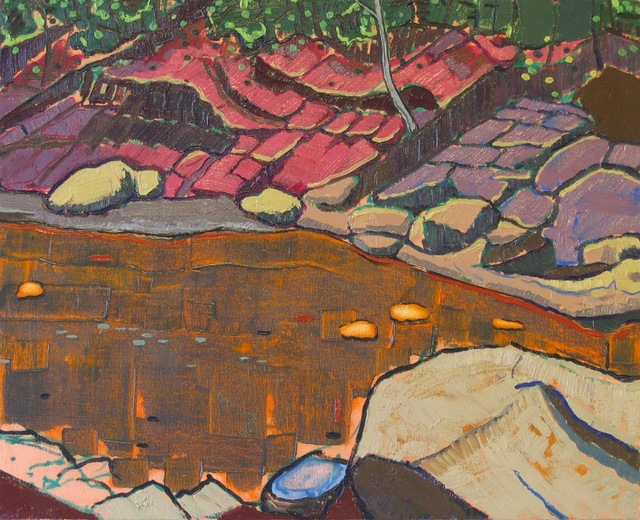 Aaron Brooks, 'Red Clay Riverbed', 2011, Flow 305