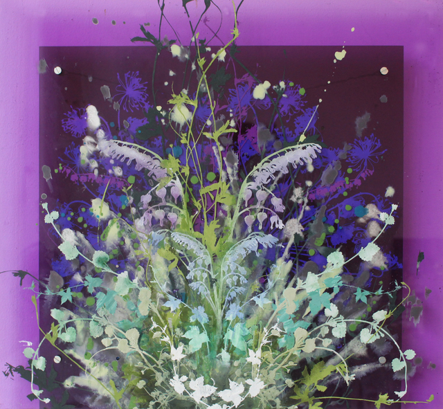 Cara Enteles, 'Purple Garden', ca. 2018, Parlor Gallery