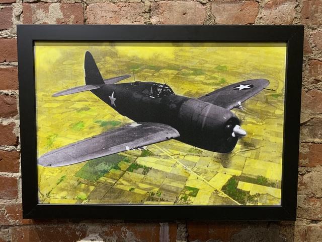 , 'Thunderbolt Fighter Plane,' 2019, Mason-Nordgauer Fine Arts Gallery