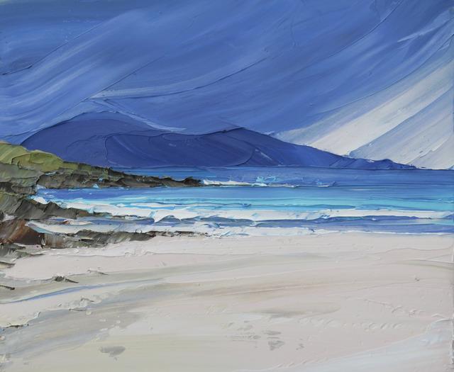 , 'Luskentyre, Isle of Harris,' 2017, Thackeray Gallery