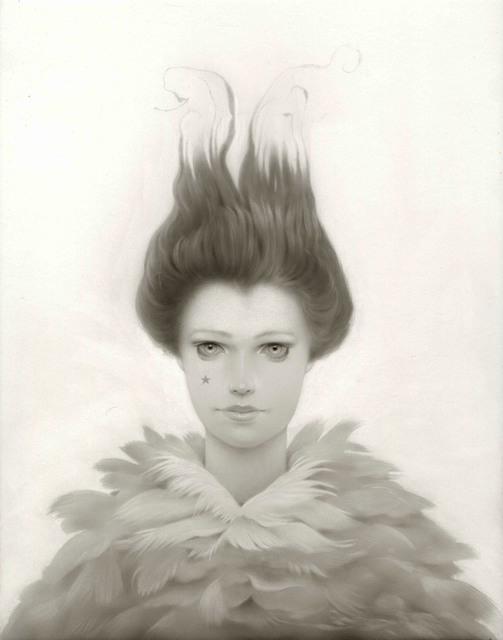 , 'The Feathered Lady,' 2018, Haven Gallery