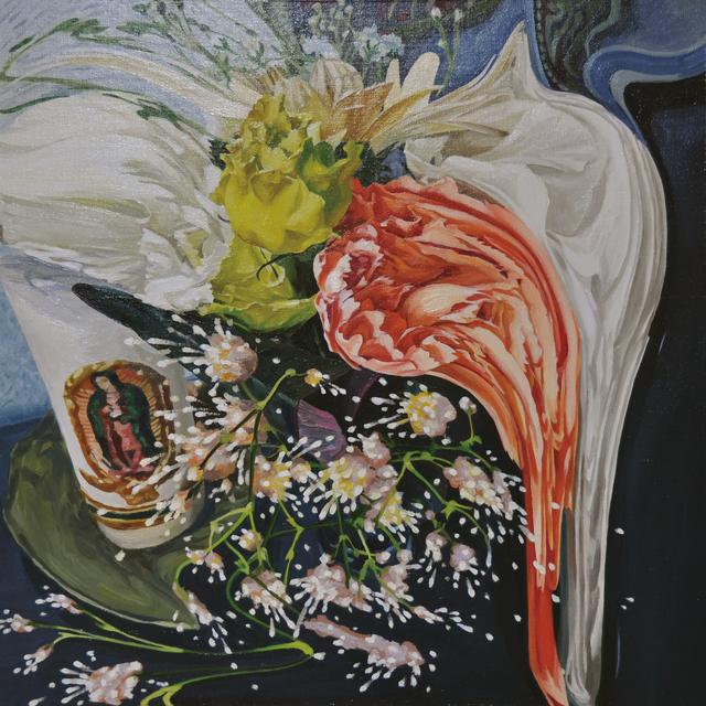 Saki Sumida, 'Baby's Breath at the Entrance', 2017, Painting, Oil on canvas, Yuka Tsuruno Gallery