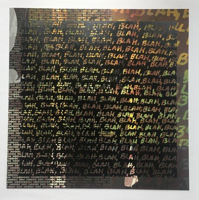 Mel Bochner, 'Blah, Blah, Blah + Background Noise', 2013, Artsnap