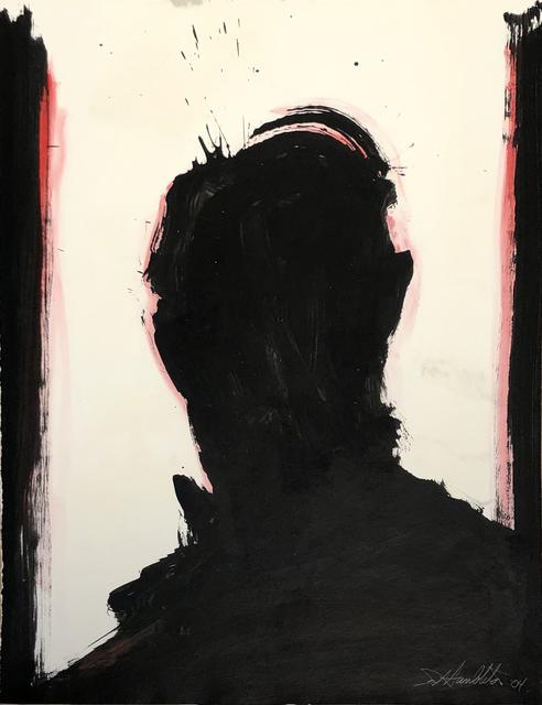 Richard Hambleton, 'Shadow Head Portrait', 2004, Woodward Gallery