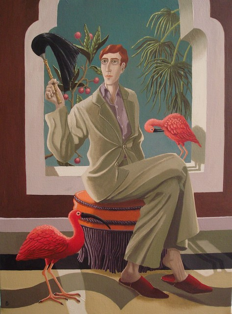 , 'Exotic Birds,' 2017, Portal Painters