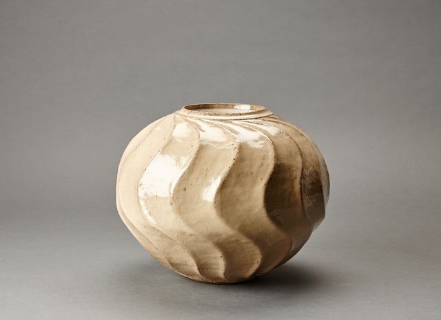 , 'Jar, wave pattern,' 2015-2016, Pucker Gallery