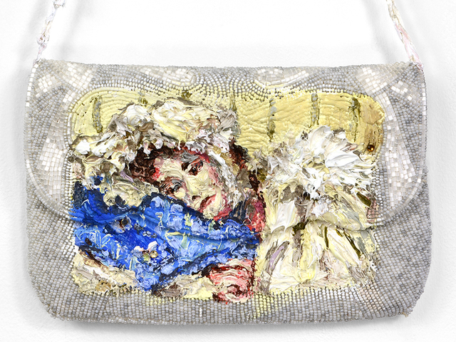 , 'Beaded Talisman for Unwell Daughter (after Anna Alma Tadema),' 2018, Fisher Parrish Gallery