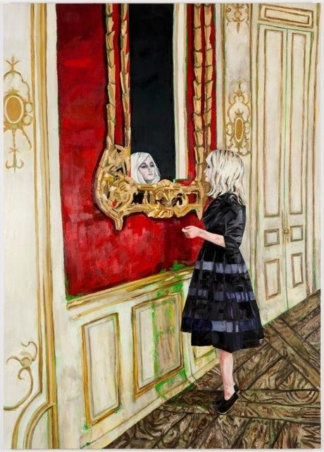 , 'Alice (Mirror),' 2013, Galerie Peter Kilchmann
