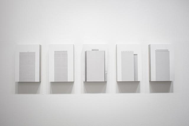 , 'Políptico Campo Cego 5 peças,' 2014, Galeria da Gávea