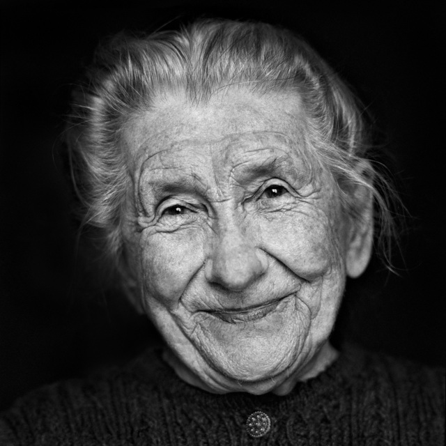 , 'Maria (Face), Farmer, Austria,' 1996, KLV Art Projects