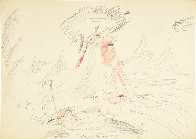 Cy Twombly, 'Untitled', 1962, Phillips