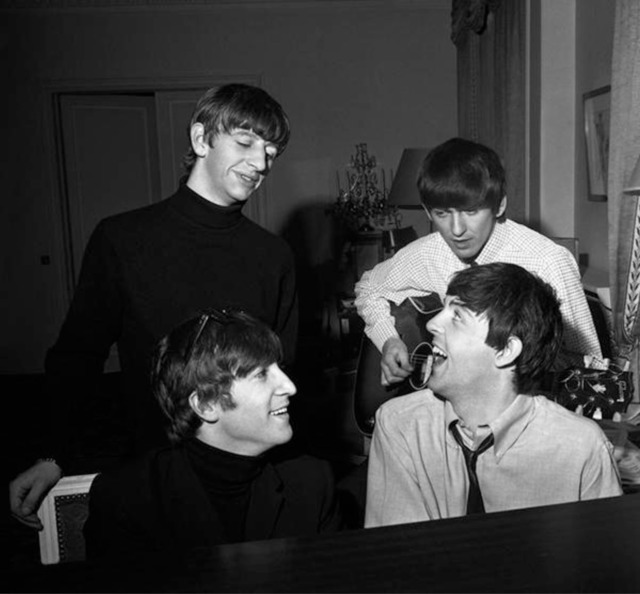 , 'Beatles Composing, George V Hotel, Paris,' 1964, Contessa Gallery