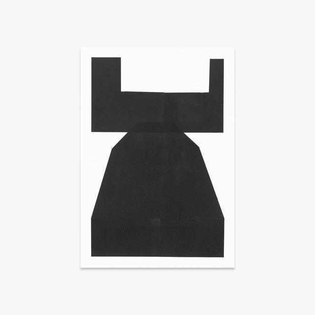 , 'Black Mono I ,' 2018, Tappan