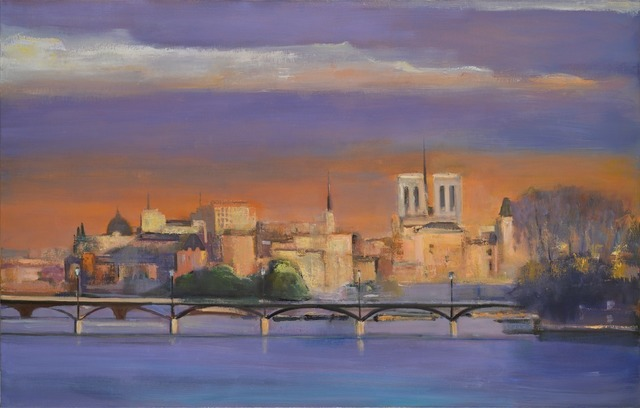 , 'Ile de la Cite, Lafe Afternoon,' 2014, Madelyn Jordon Fine Art